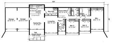 House Plan at FamilyHomePlans comContemporary Earth Sheltered s Retro House Plan Level One