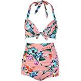 <b>Sisjuly</b> Women Vintage High Waisted Swimsuits <b>Polka Dot</b> Bathing ...