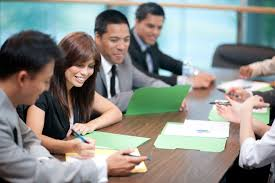what is a promotion at work business people are working on succession plans for their organization
