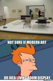 Modern Art Memes. Best Collection of Funny Modern Art Pictures via Relatably.com