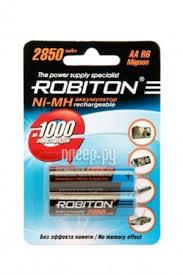 Купить <b>AA</b> - <b>Robiton</b> 2850 mAh Ni-MH (2 штуки) 10203 по низкой ...