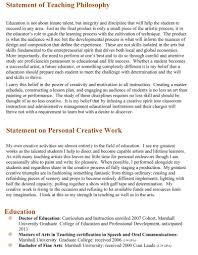 teaching philosophy statement examples best template collection teaching philosophy statement examples rsqstft0