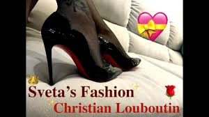 <b>Christian Louboutin</b> Hot Chick 100 patent-leather pumps ...
