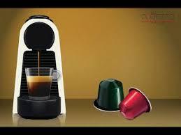 новая <b>капсульная кофемашина NESPRESSO Essenza</b>