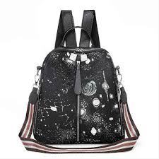 <b>2019 New</b> Style Fashion Women Beautiful Sequins Backpack Girls ...