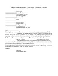 Cover Letter Medical Receptionist  medical receptionist cover     Dayjob Sample Internship Cover Letter With Elegant Cover Letter For Medical Receptionist