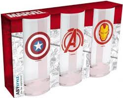 Бокал <b>Marvel</b>: Мстители, Капитан Америка и Железный человек ...