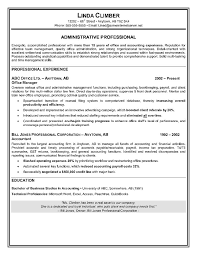 resume examples resume titles examples for senior  s executive    resume sample administrative assistant accomplishments
