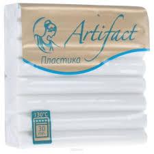 Купить Полимерная глина Artifact <b>Classic</b> белая (101), 56 г в ...