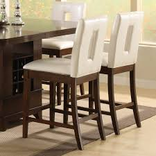 awesome and elegant counter height bar stools for your interior decor idea white leather counter awesome kitchen bar stools