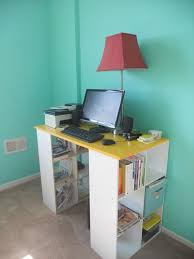 diy pottery barn similar bookshelf desk its a great desk with lots of storage bookshelves office great