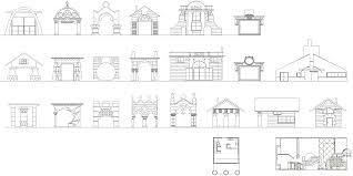 quondam com     htm Wall House plans derivative domestic architecture plans House plan i