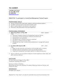 sample resume template retail sample information example bank cover letter sample resume template retail sample information example bank management trainee program professional experienceresume template