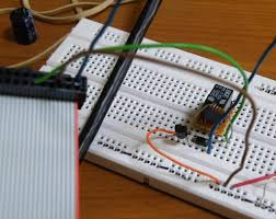 raspberry pi driving a relay using gpio susanet the breadboard photo shows it wired