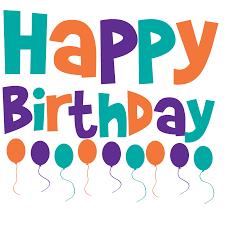 Image result for birthday clip art