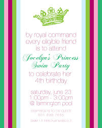 entrancing princess garden party invitations birthday party ravishing princess birthday party invitations printable