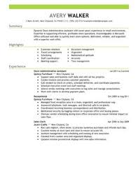 Best Store Administrative Assistant Resume Example | LiveCareer Store Administrative Assistant Resume Example