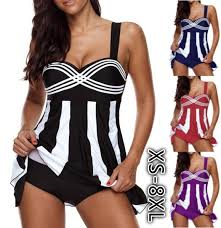 <b>Women Summer Beach Wear</b> Swimming Suit <b>Womens</b> Bikini Stripe ...