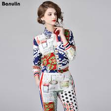 Aliexpress.com : Buy <b>Banulin New Fashion Designer</b> Runway Suit ...