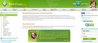rushessaycom review   research paper services reviews rushessay