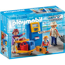 Купить <b>конструктор Playmobil</b> Городской Аэропорт: <b>Семья</b> на ...