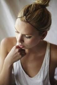 <b>Punk</b> golden metal <b>u shape</b> hair pin for <b>women</b> in 2020 | Hair ...