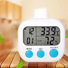 Urijk <b>Indoor Room LCD</b> Electronic Temperature Humidity Meter ...