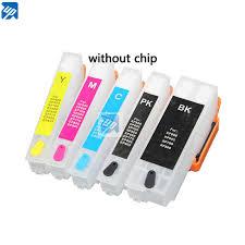 5PCS 273 273XL Refillable Ink Cartridge for epson XP520 XP600 ...