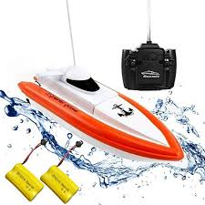 Amazon.com: Rabing <b>RC Boat</b> for Pools and Lakes - <b>HY800</b> Racing ...