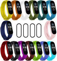 IMBZBK [19-Pack] 15 Colors Straps <b>Bracelet for Xiaomi Mi</b> Band 5 + ...