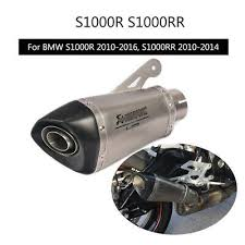 <b>2010-2016 S1000R</b> Muffler Pipe For <b>2010-2014</b> BMW <b>S1000RR</b> ...