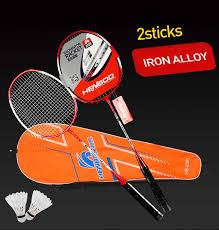 <b>HENBOO</b> Professional <b>Badminton Racket</b> Set Family Double ...