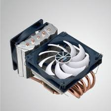 Universal- CPU Air Cooler with 5 DC Heat Pipes and Both Sideways ...