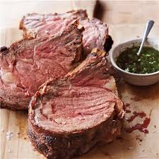 Roast rib of beef with Yorkshire pudding & red wine gravy