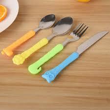 4 шт., милый мультяшный морковь, ложка для кормления детей ...
