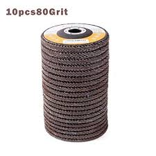 terferein 100mm 10 <b>Pcs</b> Flap Sanding Discs 40/60/80/<b>120</b> Grit ...