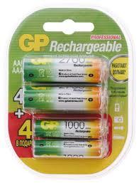 Аккумулятор <b>Ni</b>-Mh GP Rechargeable 2700 Series AA + ...