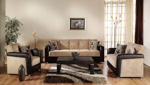 Two Loveseat Living Room Vision Benja Sleeper Sofa In Light Brown By Sunset