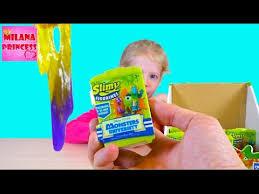 <b>Игрушки</b> Лизуны с фигурками Монстры: <b>Slimy</b> Figurines <b>Monsters</b> ...