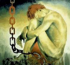 Resultado de imagen de hombre encadenado