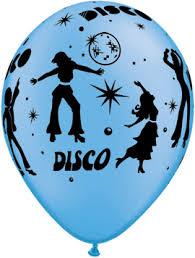 """5 x 11"""" Qualatex Helium Quality Neon <b>Disco balloons</b> Greeting ..."""
