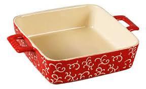Купить <b>форма для запекания квадратная</b>, 32х23х7 см, красная ...