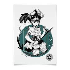 Плакат A3(29.7x42) <b>Пиратка</b> #1558321 от cinstudio@mail.ru