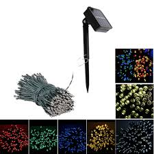 12 100LED / <b>22M 200 LED</b> Solar String Fairy Lights Waterproof ...