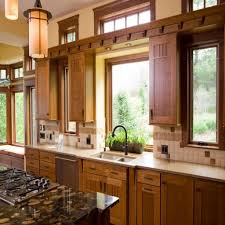 Large Kitchen Window Treatment Cool Window Treatment Ideas For Kitchen With Gas Stove And Hanging