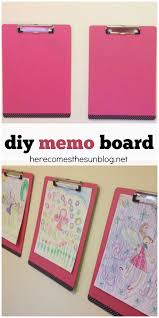 diy memo board station here comes the sun create this colorful memo board station to match any decor