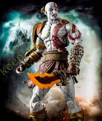 "<b>NECA Game</b> Original <b>God</b> of War 3 Ultimate Kratos 7"" PVC <b>Action</b> ..."