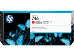<b>HP 746</b> 300-ml <b>Chromatic</b> Red <b>DesignJet</b> Ink Cartridge, P2V81A ...
