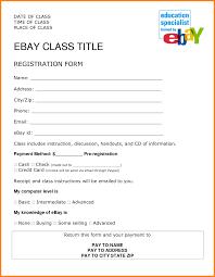 4 job registration form format ledger paper class registration customize and print form template word format job