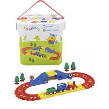 Купить <b>Viking Toys</b> Набор <b>Viking</b> City <b>Железная дорога</b> 21 ...